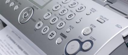 Fax-Versand